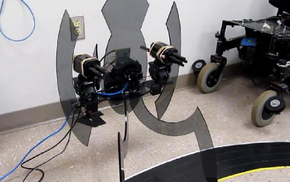 Un estudiante se fabrica una torreta del videojuego Portal para su proyecto fin de carrera