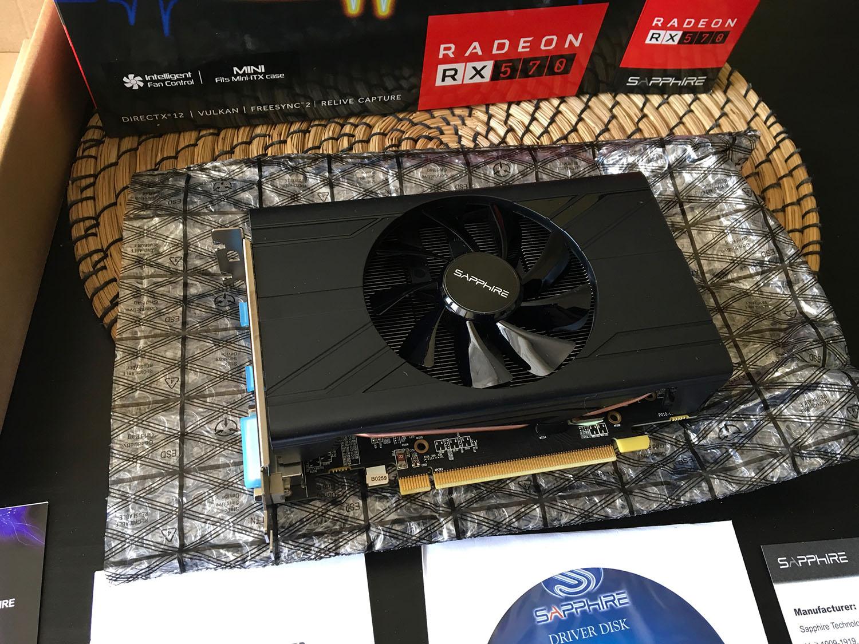 Análisis de RX 570 Pulse ITX 4GD5 de Sapphire | Review y