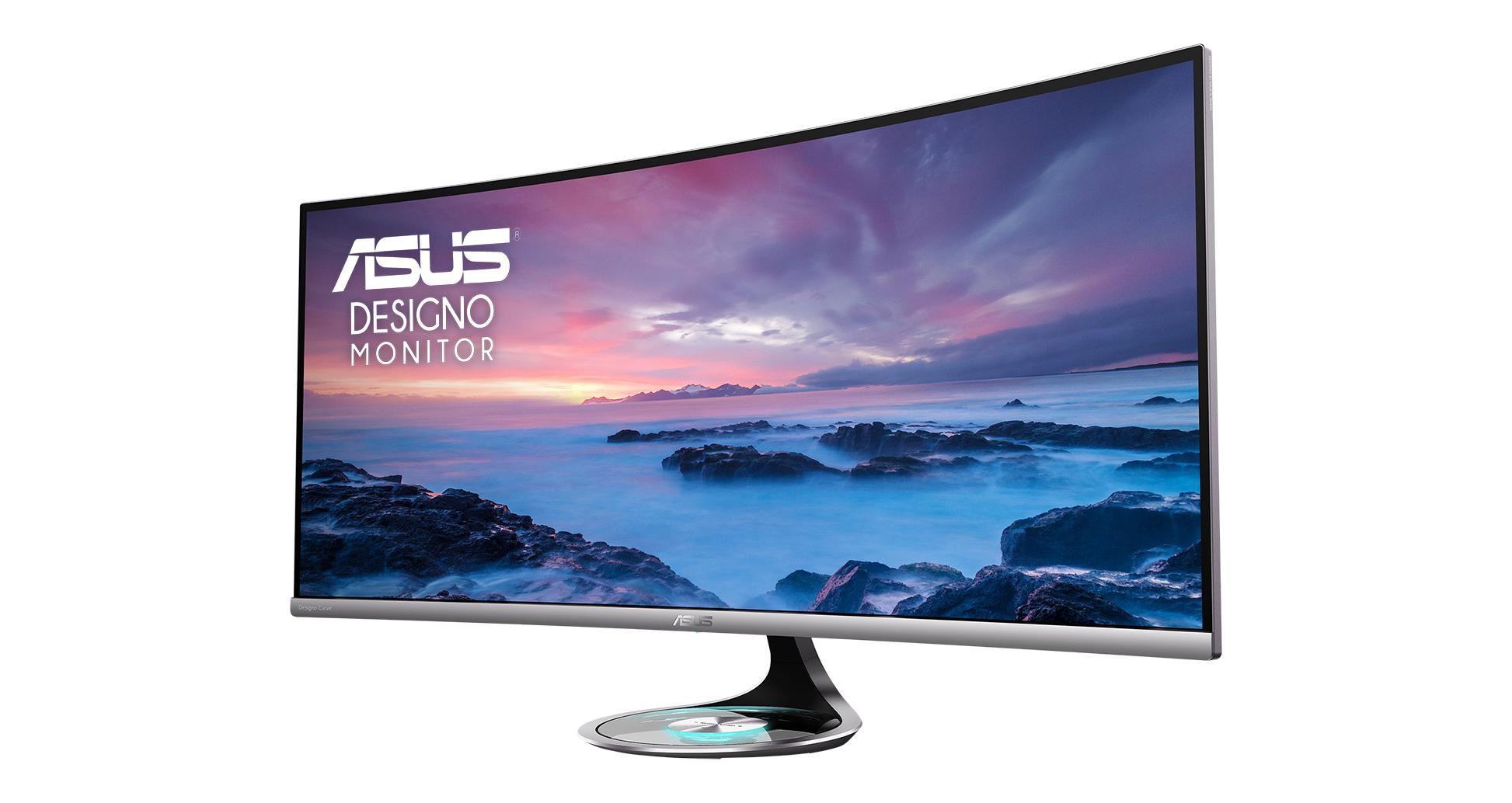 Asus Presenta Nuevos Monitores Curvos Designo Curve Mx38vc