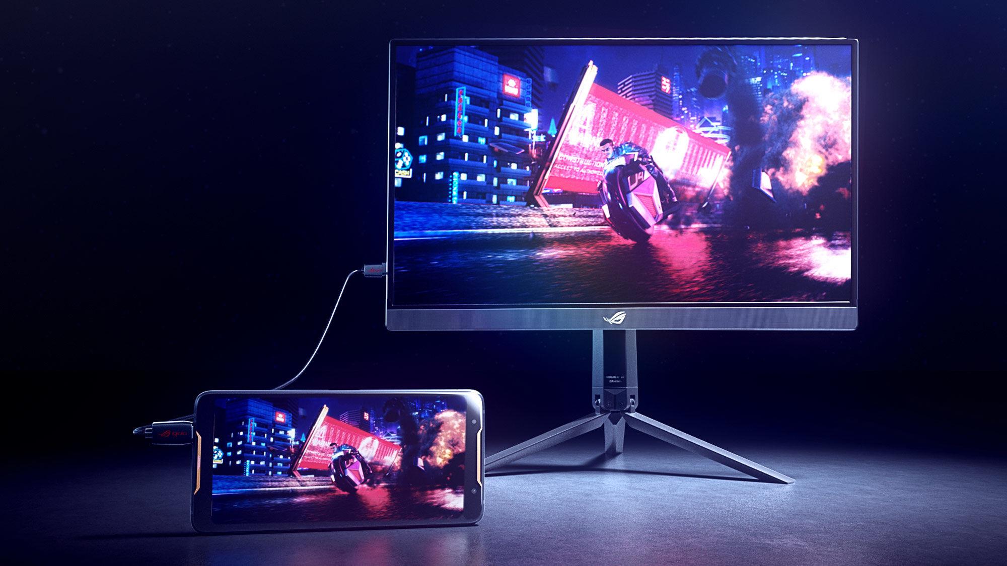 ASUS anuncia el ROG Strix XG17AHP, monitor portátil FHD de tipo ...