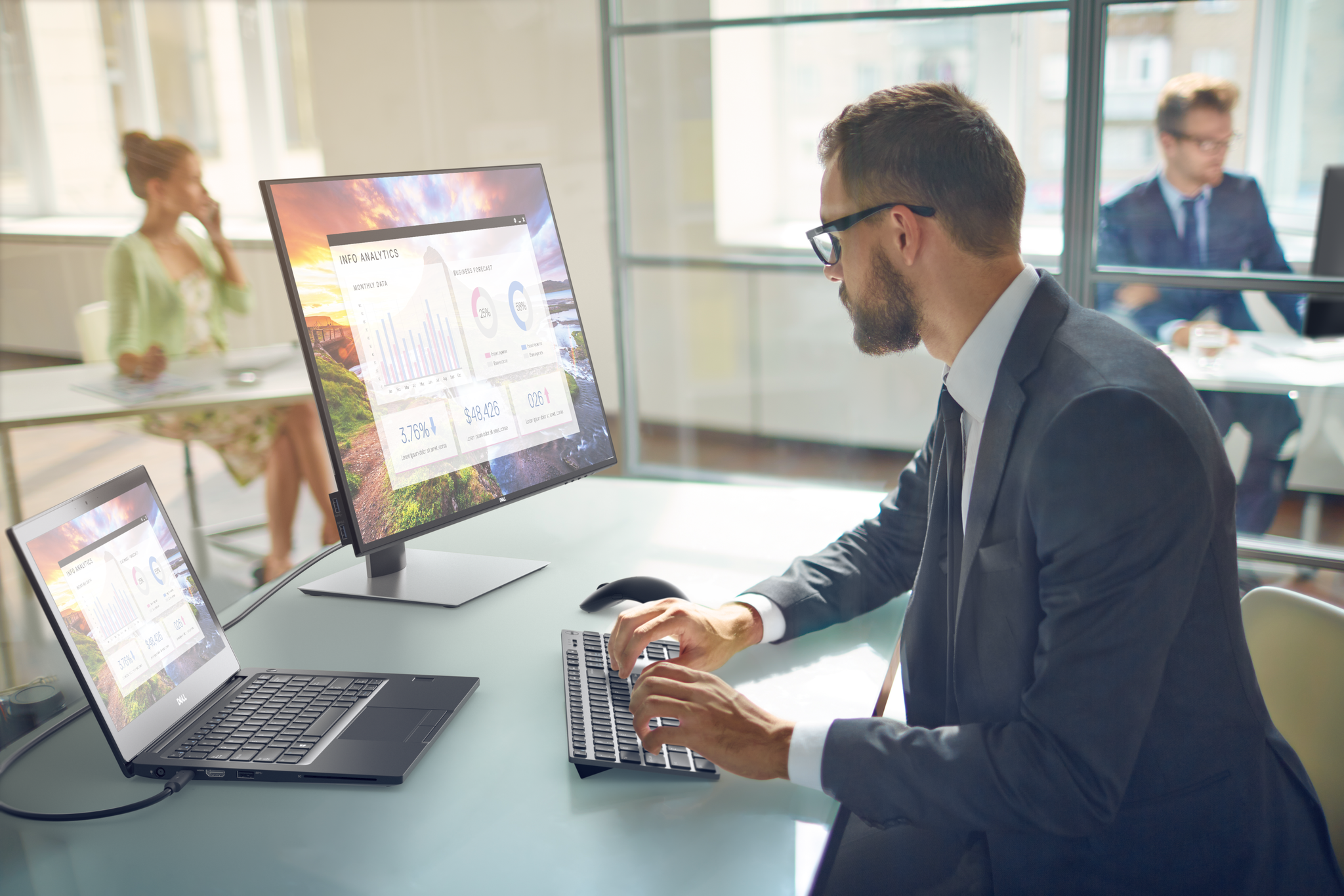 Dell Presenta Los Monitores Ultrasharp U2419hc Y U2719dc