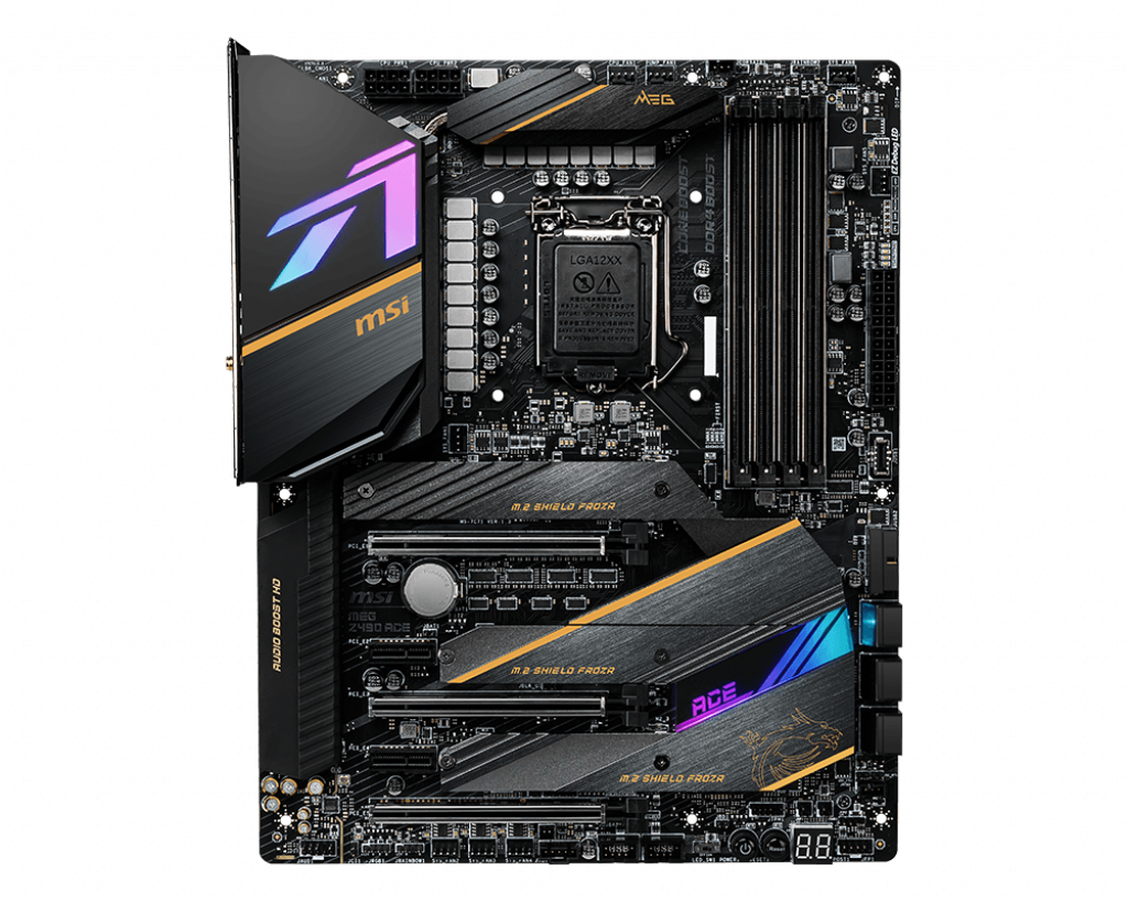 placa madre MSI Z490 MEG ACE