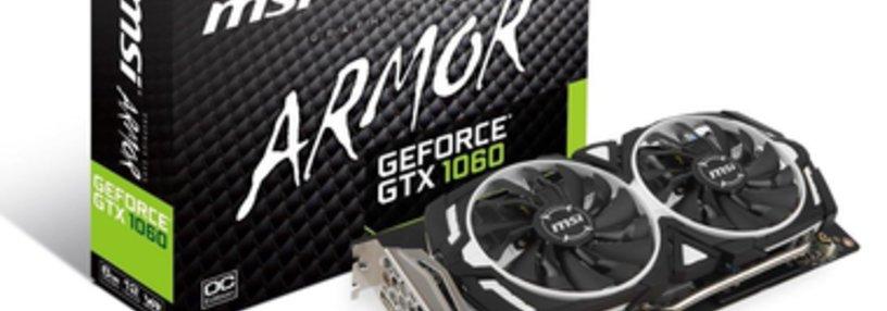Cabecera de GeForce GTX 1060 Armor 6G OC