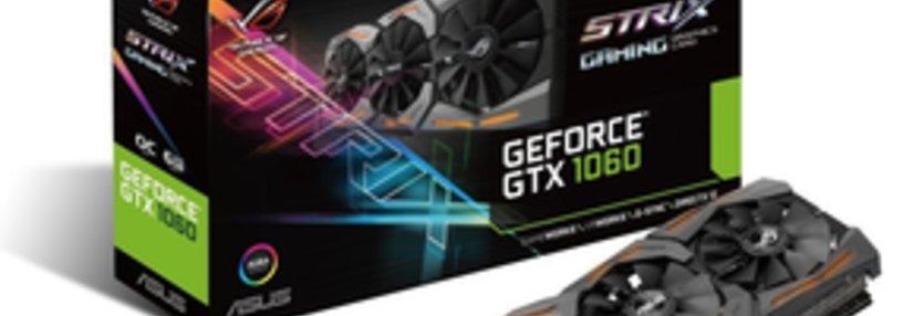 Cabecera de GeForce GTX 1060 ROG Strix OC