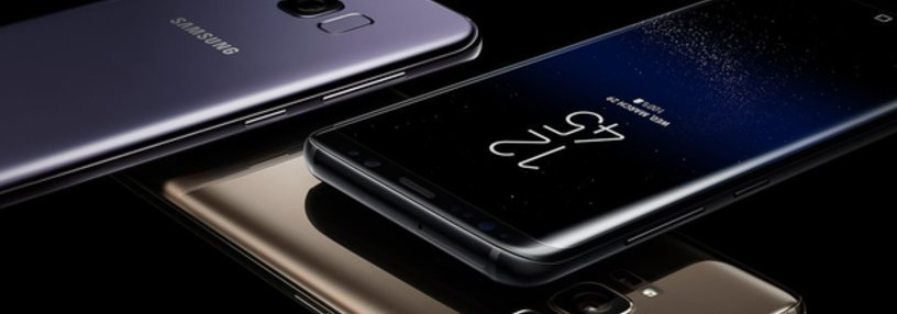 Cabecera de Galaxy S8
