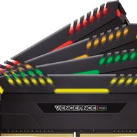 Vengeance RGB, 32 GB (4x 8 GB), DDR4-3466, CL 16