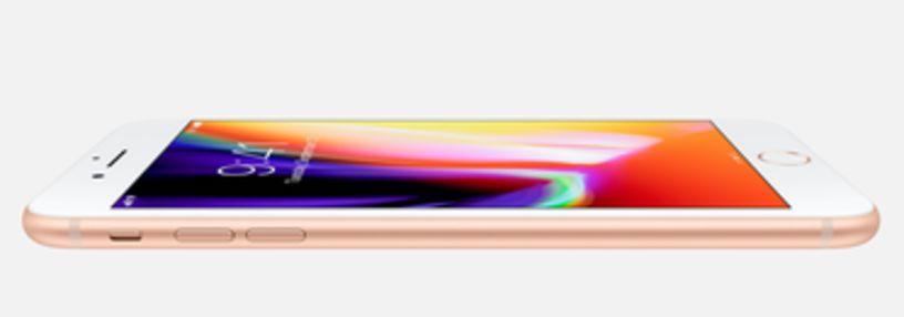 Cabecera de iPhone 8