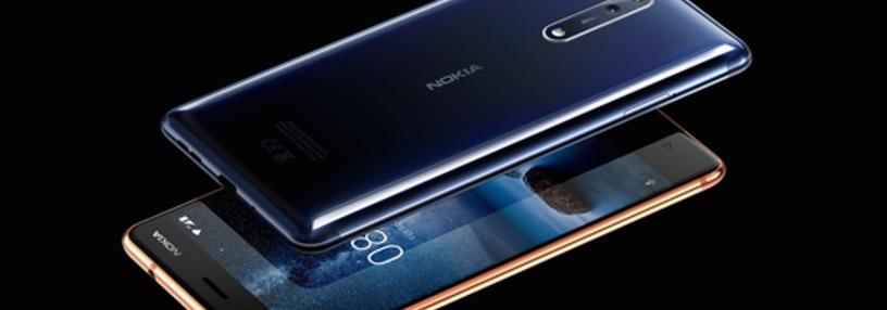 Cabecera de Nokia 8