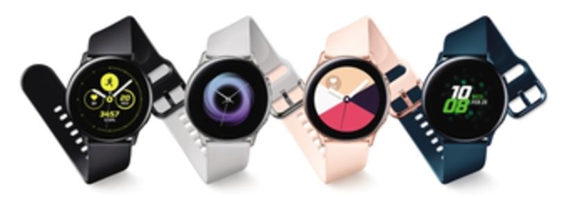 Cabecera de Galaxy Watch Active