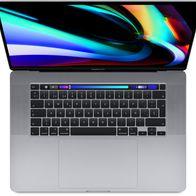 MacBook Pro 16 (i7, 16+512 GB, Pro 5300M)