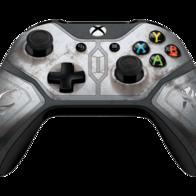 Mando inalámbrico mandaloriano y base de carga Xbox Pro