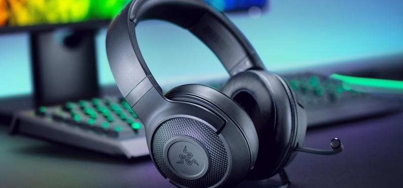Razer presenta los auriculares Kraken X con sonido envolvente 7.1