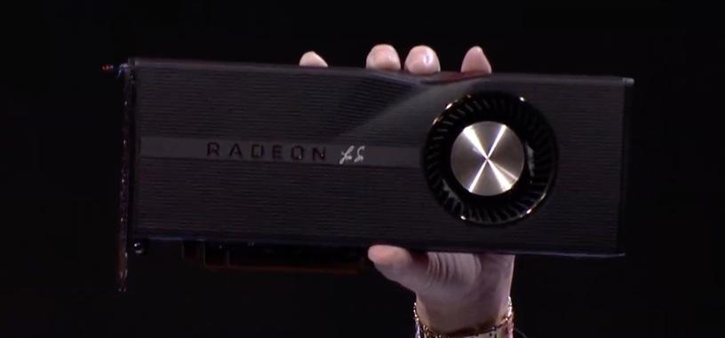 AMD venderá una edición 50 aniversario de la RX 5700 XT en negro, subida a 1980 MHz por $499