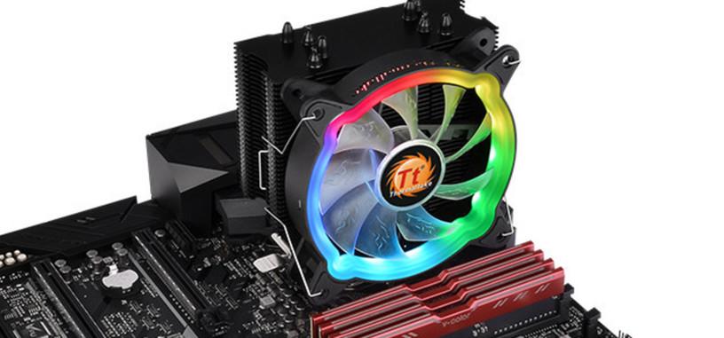 Thermaltake presenta la refrigeración UX200 ARGB