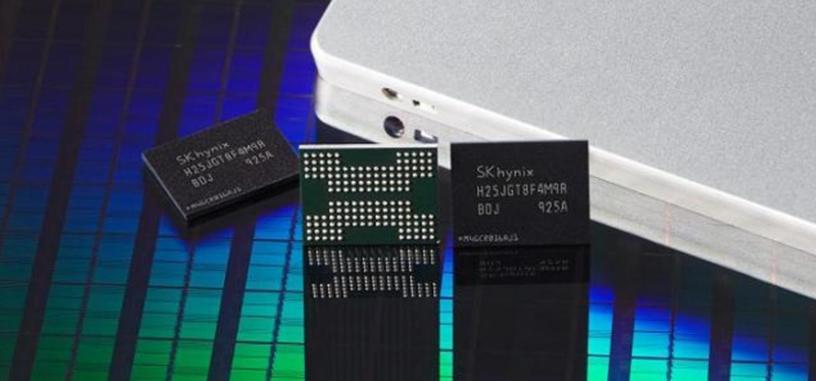 SK Hynix empieza la producción en masa de su NAND 4D de 128 capas