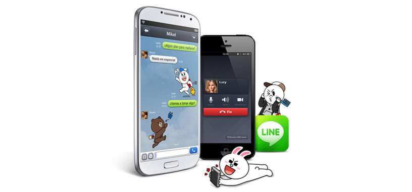 Telefónica incluirá la aplicación de mensajería Line en sus teléfonos con Firefox OS