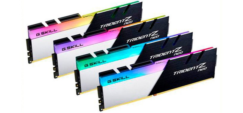 G.Skill anuncia los módulos Trident Z Neo de DDR4 para los Ryzen 3000 y placas X570