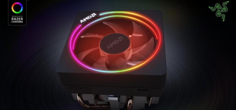 La refrigeración Wraith Prism de AMD ahora es compatible con el sistema Chroma de Razer