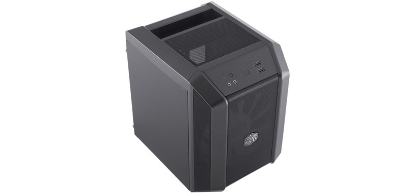 Cooler Master presenta el cubo MasterCase H100 para placas mini-ITX