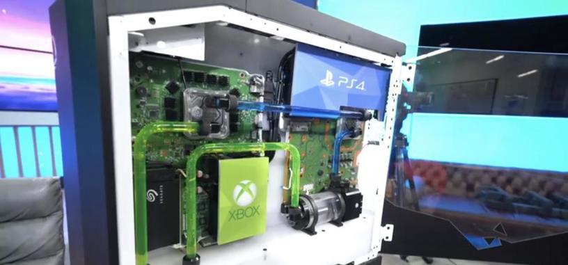 Origin mete en una misma caja de PC una Xbox, una PlayStation, una Switch y un PC