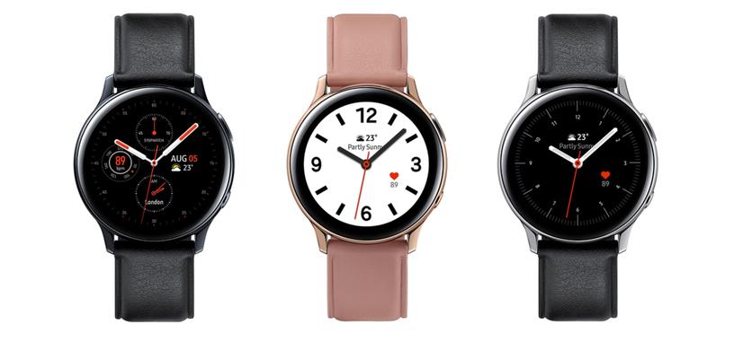 Samsung presenta el Galaxy Watch Active2 con electrocardiograma