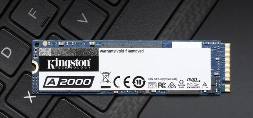 Kingston anuncia la serie A2000 generalista de SSD tipo PCIe con encriptación por 'hardware'