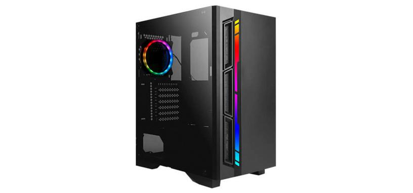 Antec anuncia la caja NX400, iluminación ARGB y cristal lateral a 53.99 euros