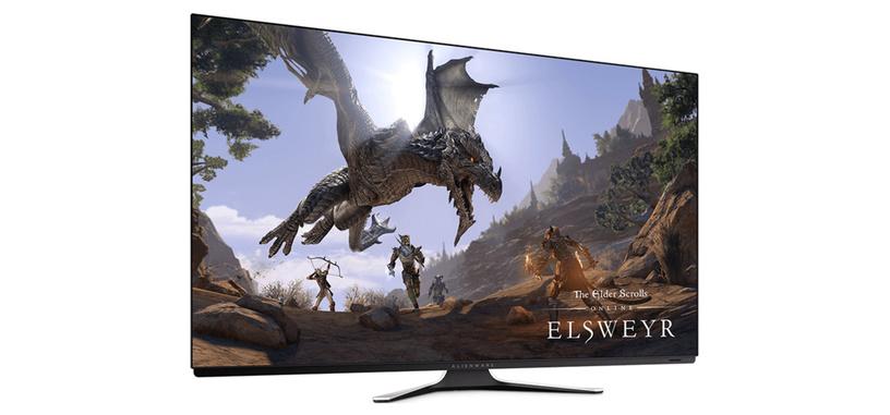 Dell presenta el monitor AW5520QF de tipo OLED 4K de 120 Hz, costará 4000 dólares