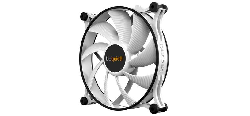 Be Quiet! añade opción en color blanco al ventilador silencioso Shadow Wings 2