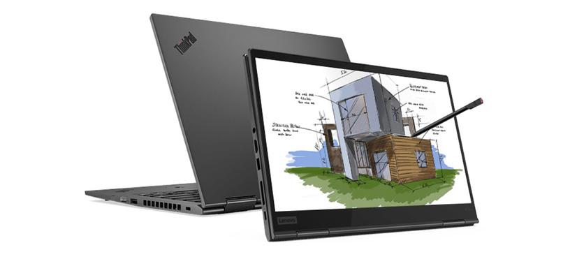 Lenovo renueva el ThinkPad X1 Yoga, un convertible con procesador Comet Lake