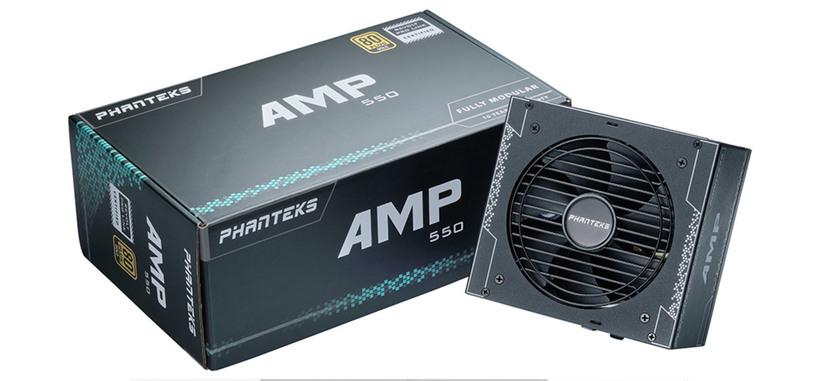 Phanteks anuncia la serie AMP de fuentes 80 PLUS Gold modulares