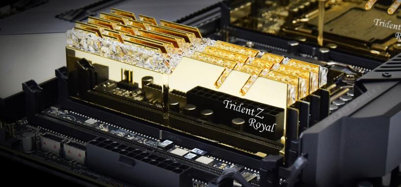 G.Skill presenta nuevos módulos Trident Z Royal de 4000 MHz y 4300 MHz
