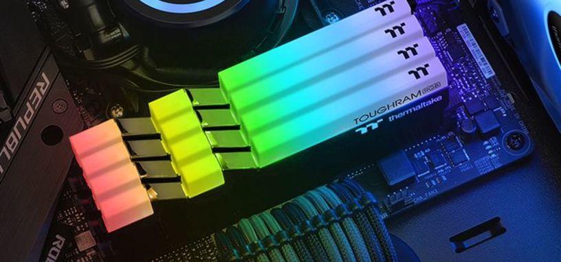 Thermaltake anuncia los módulos TOUGHRAM de DDR4 de hasta 3600 MHz
