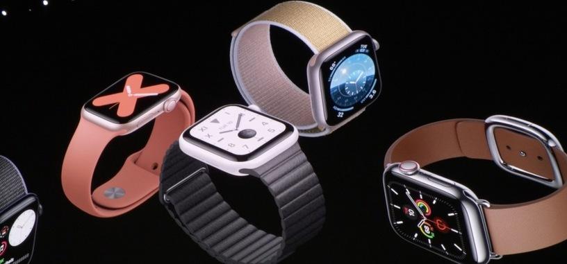 Apple presenta el Watch serie 5: pantalla siempre activa y brújula integrada