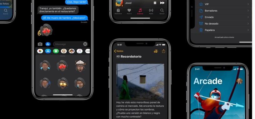 Apple anuncia las fechas de distribución de iOS 13, watchOS 6 e iPadOS