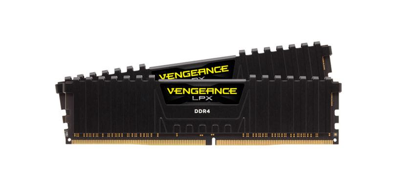 Corsair presenta sus módulos Vengeance LPX de DDR4 a 4866 MHz