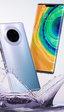 Estas serían imágenes de los distintos modelos de la serie Mate 30 de Huawei