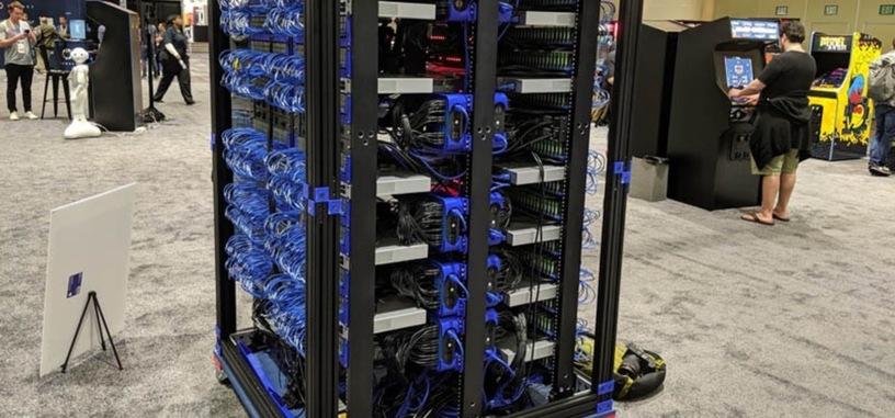 Oracle crea una supercomputadora con 1060 Raspberry Pi