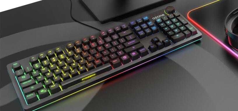 Ozone presenta el teclado mecánico StrikeBack