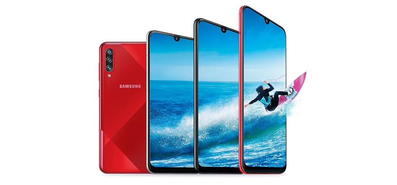 Samsung presenta el Galaxy A70s, cámara de 64 Mpx, 4500 mAh, SD675 y pantalla AMOLED de 6.7''
