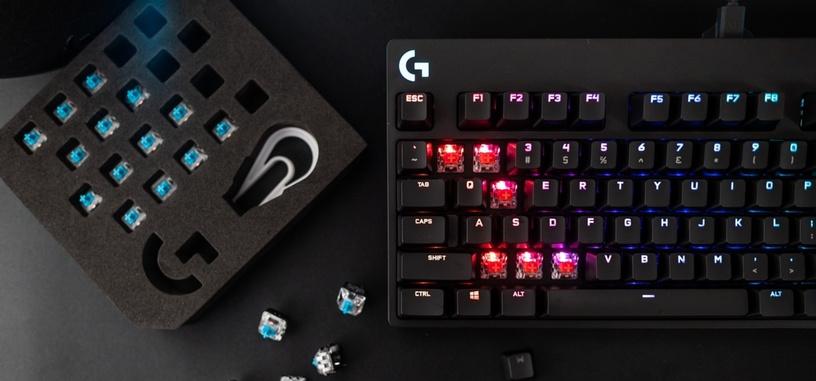 Logitech G presenta el teclado compacto mecánico Pro X