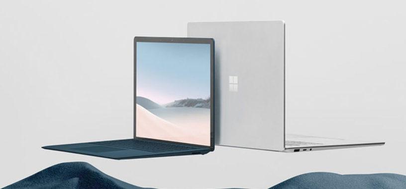 Microsoft anuncia el Surface Laptop 3 con procesadores Ryzen y Ice Lake