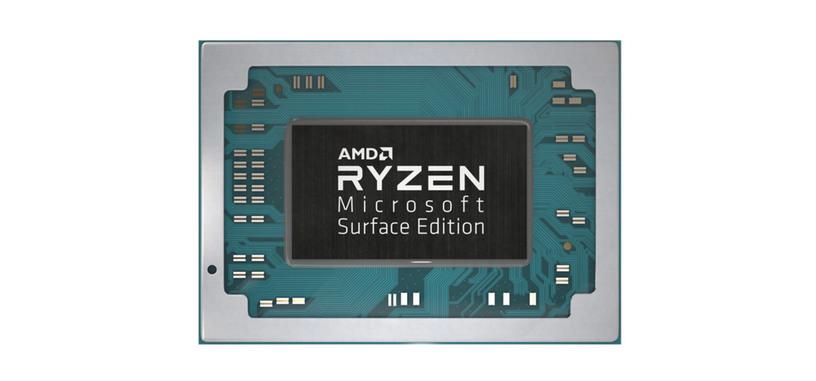 AMD y Microsoft colaboran en los procesadores Ryzen 5 3580U y Ryzen 7 3780U para los Surface