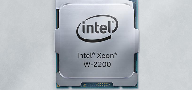 Intel anuncia los Xeon W-2200 de hasta 18 núcleos, y a mitad de precio que la generación anterior