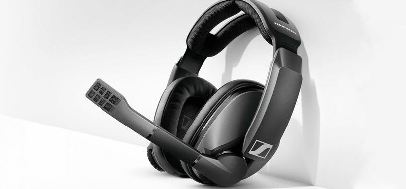 Sennheiser anuncia los GSP 370, auriculares inalámbricos para jugar con 100 horas de autonomía