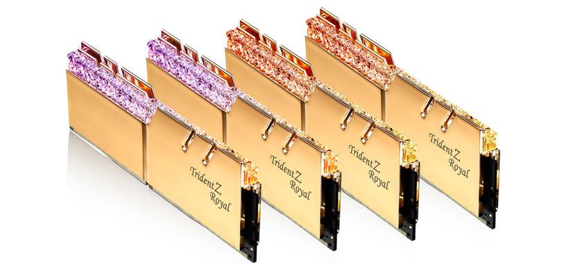 G.Skill anuncia módulos de baja latencia DDR4-4000 con CL 15