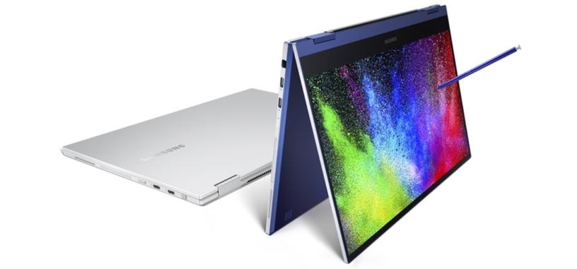 Samsung presenta el Galaxy Book Flex, un convertible con pantalla QLED y procesador Ice Lake