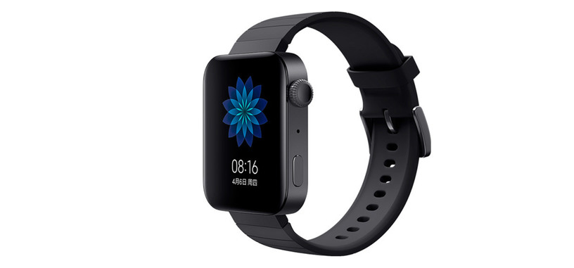 Xiaomi anuncia el Mi Watch, nuevo clon del reloj de Apple pero con Wear OS