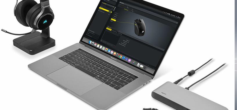 Corsair lleva su programa de configuración de periféricos 'iCUE' a macOS