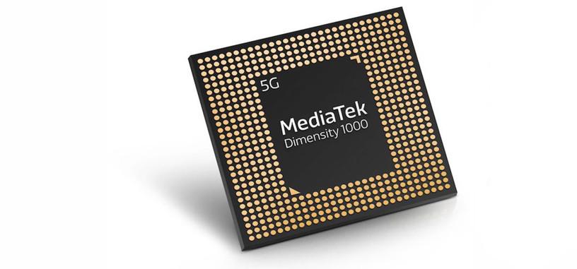 MediaTek presenta el procesador Dimensity 1000 con conectividad 5G y fabricado a 7 nm